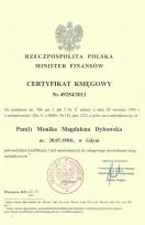 Licencja Ministra Finansów